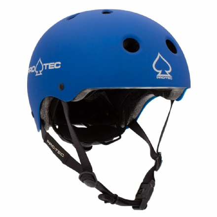 Pro-Tec JR Classic Fit Certified Helmet Metallic Blue Medium